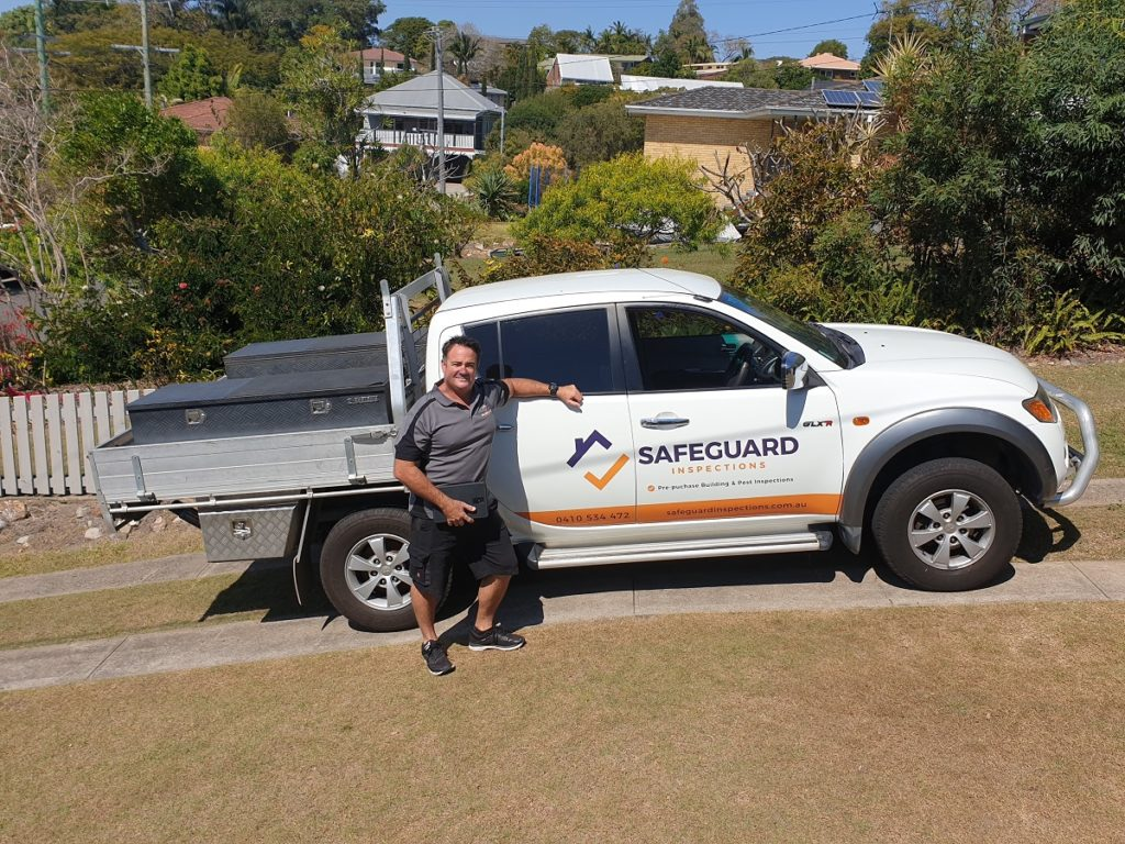 Ben from safeguard building and pest inspections Brisbane baysdie