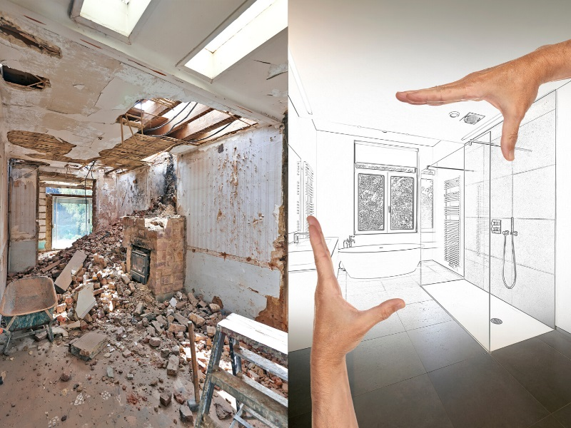 tips for buying a house to renovate