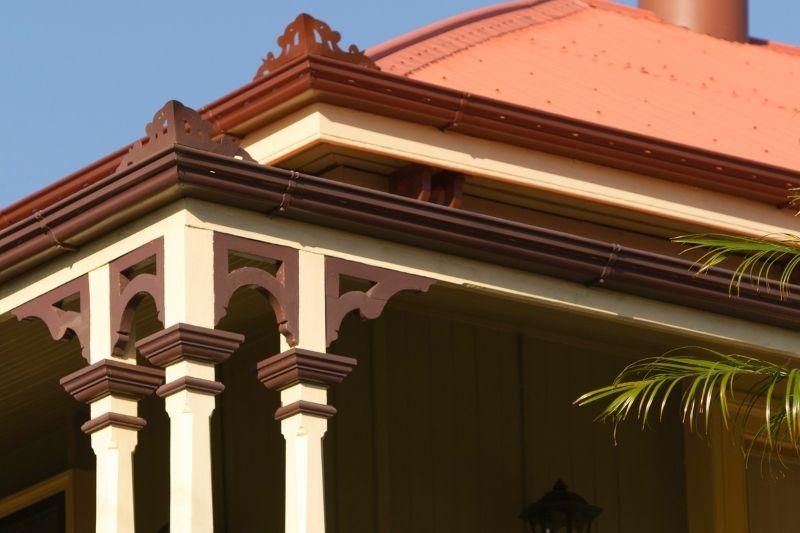 Queenslander with tin roof